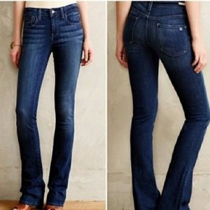 Pilcro Anthro Low Rise Boot Cut Jeans size 28 X 31